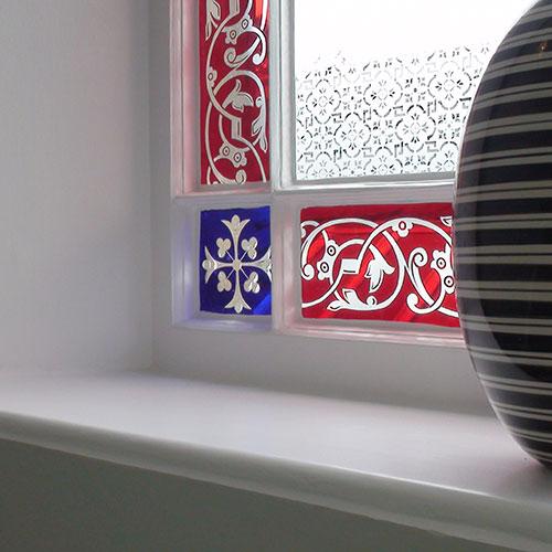 Display Window Sill