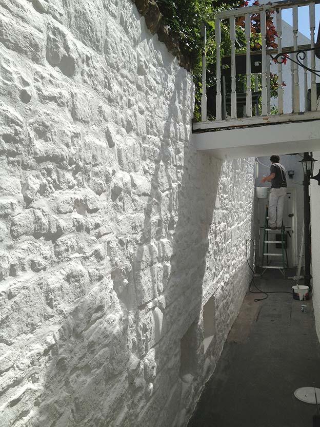 Cramond White Wall