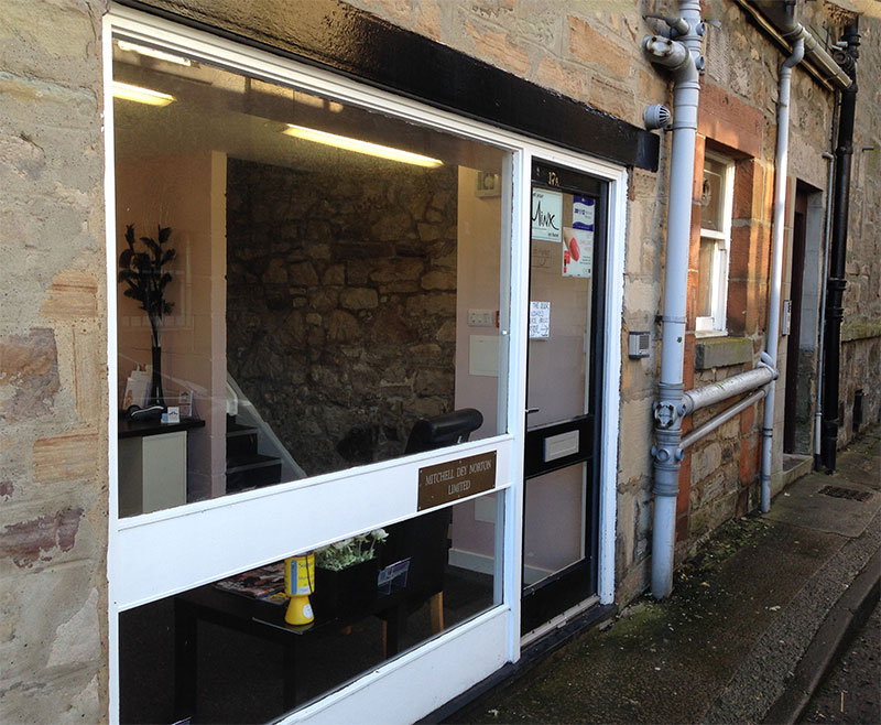 Business Office Entrance Re-paint in Balerno