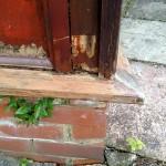 Wood Care Repair - before