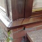 Wood Care Repair - after